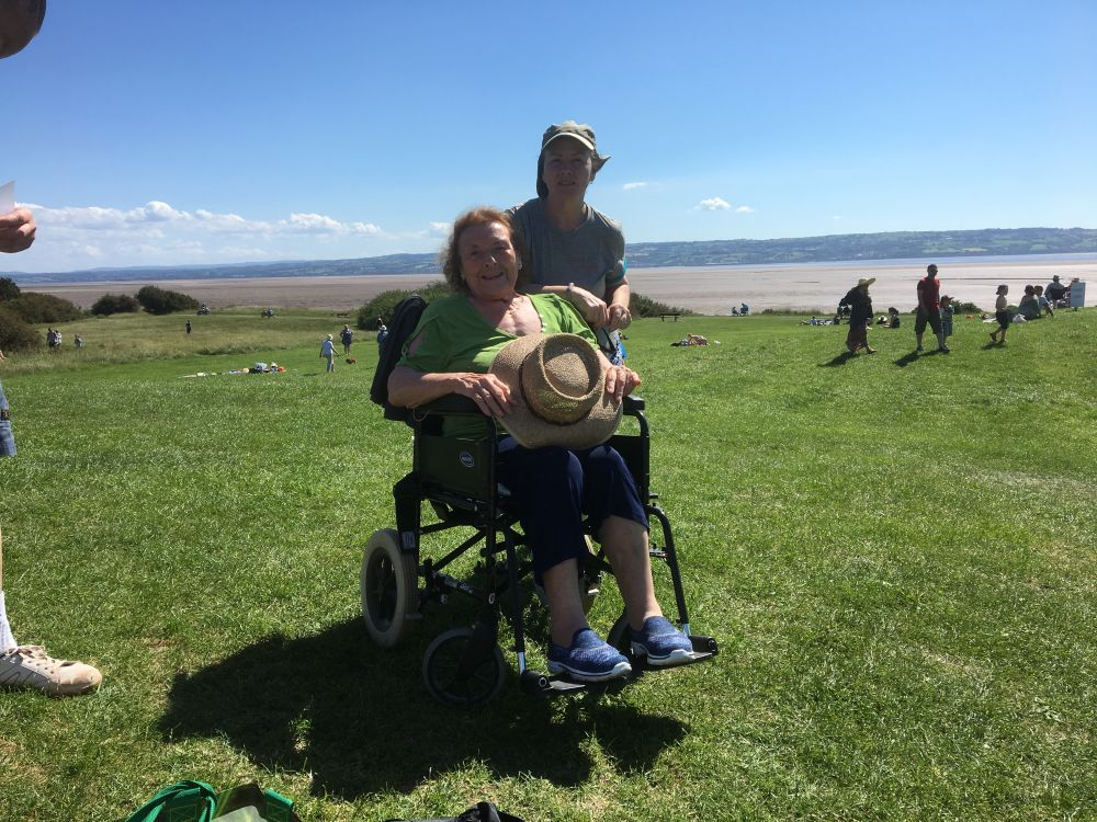 Rio and Allyson finished the Wirral Walk! Well done! June 18th , 2017