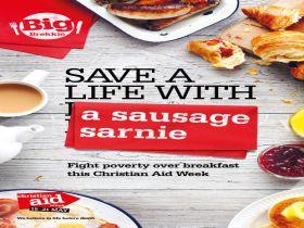 Christian Aid Breakfast Sandwich