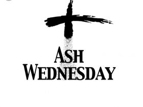 Ash Wednesday 7.30pm
